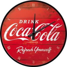 Wanduhr Coca Cola