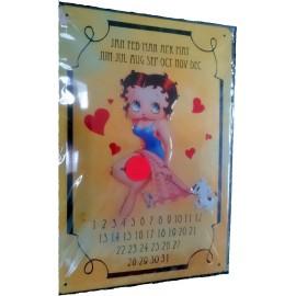 Betty Boop  Kalender 20x30
