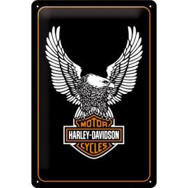 Harley Davidson Logo Blechschild  20x30