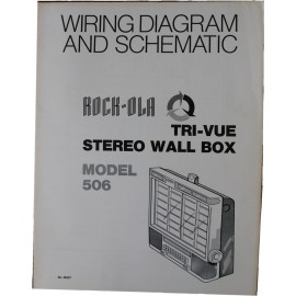 ROCK-OLA 506 Wall Box