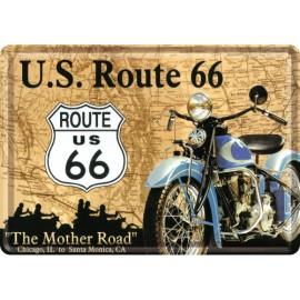 US Route 66, Blechschild 20x30