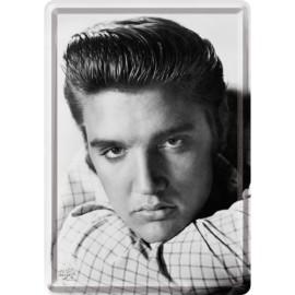 Elvis Presley, Portrait,  Blechschild 20x30
