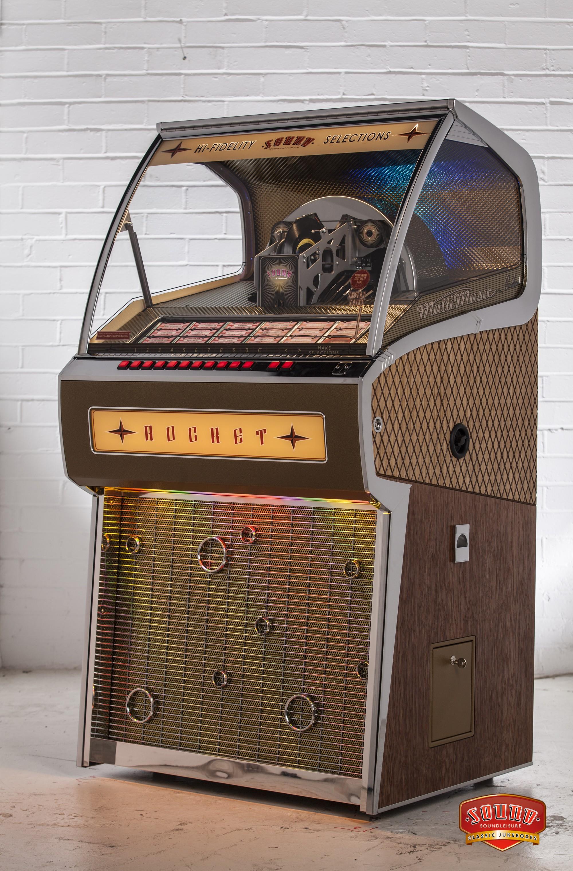 Soundleisure Rocket Vinyl Auf Bestellung Spielautomaten Ch
