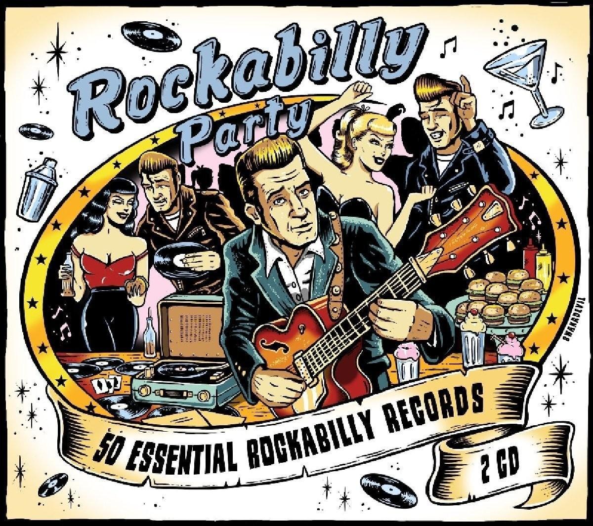 Cd Rockabilly Party 2 Cd S Spielautomaten Ch