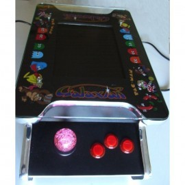 Mini Cocktail Video-Table 15 Zoll / 60 oder 412 Spiele